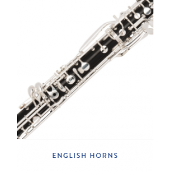KÈN INSTRUMENTS CATALOG - ENGLISH HORNS