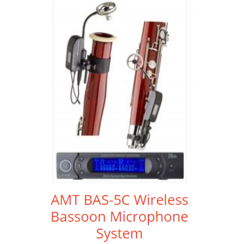 AMT BAS-5C Wireless Bassoon Microphone System