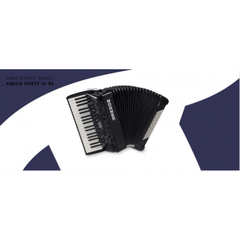 Hohner - Instruments-Accordions -Product Finder - Amicaforte series Amica forte IV 96