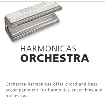 Hohner - Instruments-harmonica Orchestra