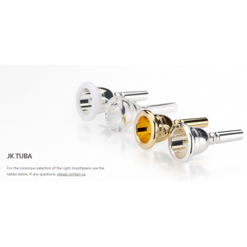 JK-Josed Klier MOUTHPIECES TUBA