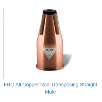 FRENCH HORN - FRC All Copper Non-Transposing Straight Mute