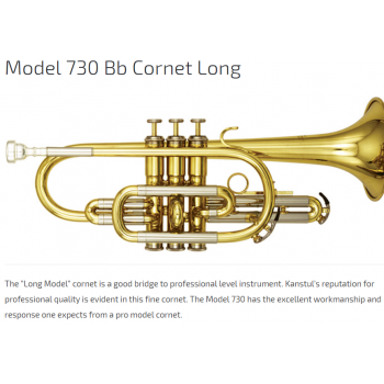 KÈN CORNETS - Model 730 Bb Cornet Long