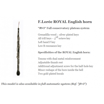 KÈN Instruments - English Horns - F Lorée ROYAL English horn