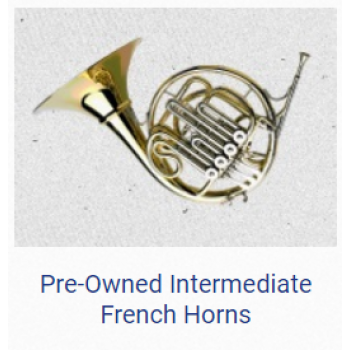 KÈN PRE - OWNED INTERMEDIATE FRENCH HORNS