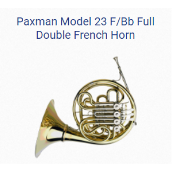 KÈN PRODUCTS - French Horns - PAXMAN FRENCH HORNS