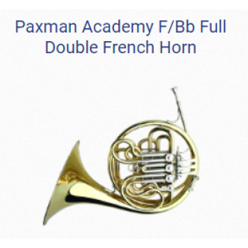 KÈN PAXMAN FRENCH HORNS - PAXMAN ACADEMY F-BB FULL DOUBLE FRENCH HORN