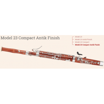 KÈN Puchner - Instruments - Bassoons - Model 23 Compact Antik Finish