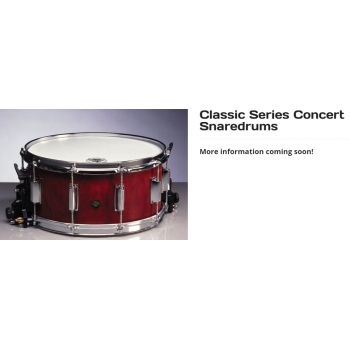 Trống Vancore Concert Series CLASSICAL DRUMS SNAREDRUMS - Classic Series Concert Snaredrums